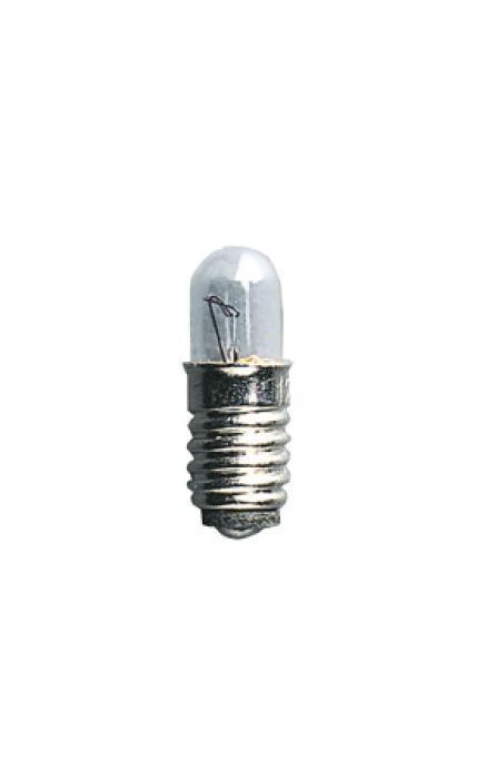 Microlampa E5 12V 0,6W. 5-pack. Klar