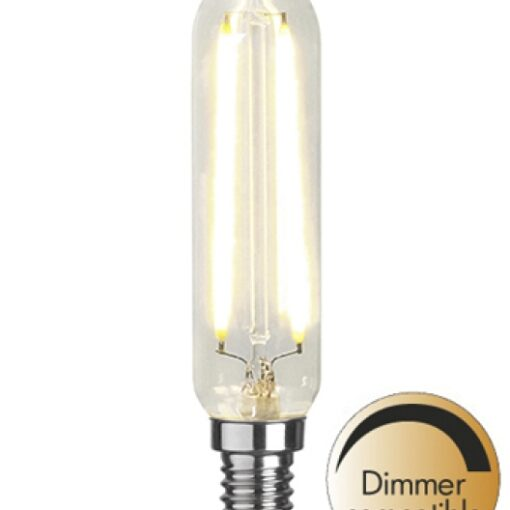 LED Klar filament lampa E14 2700K 250lm Dimmerkomp.