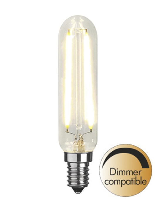 LED Klar filament lampa E14 2700K 250lm Dimmerkomp.