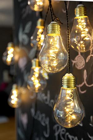 Exklusiv Ljusslinga Glow Party Light med plasthöljen 360 cm