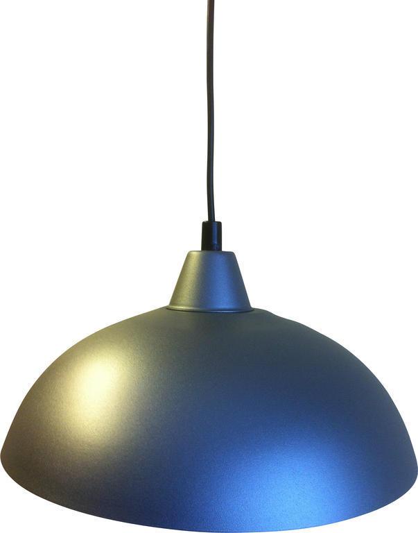 Taklampa Maj Antracitgrå 30 cm. Eklunds Metall