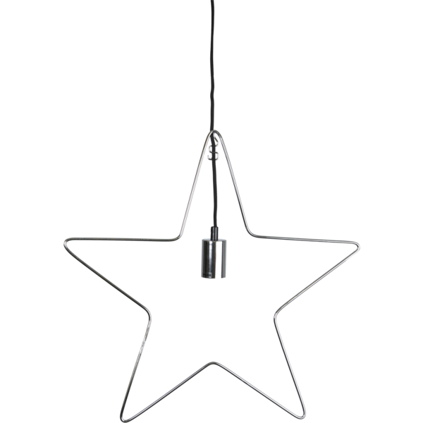 Ramsvik Star 55 cm. Chrome