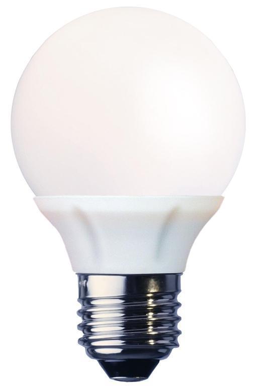 LED-lampa E27 4,5W Varmvit 2700K.