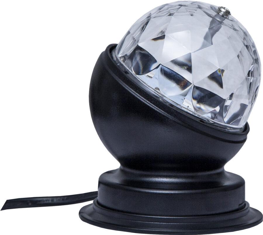 BORDSLAMPA DISCO LED