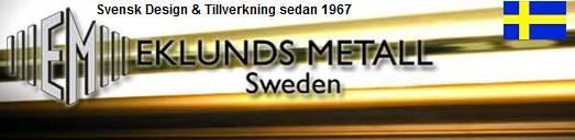 Taklampa Tekla Svart/Vit. Eklunds Metall