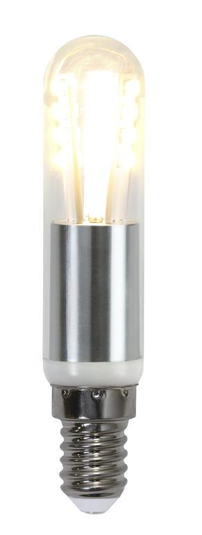 Rörlampa LED 3W Klar 2700K. Dimbar. Crystal