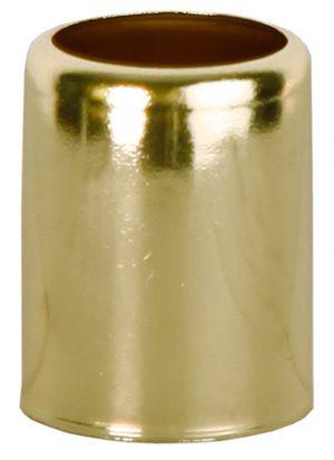 Dekoration Metallhylsa Mässingsfärgad 7-Pack