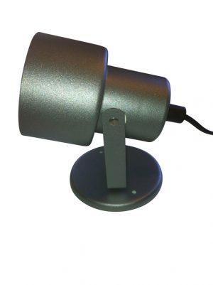 Vägglampa Eivor Grafitgrå. Eklunds Metall