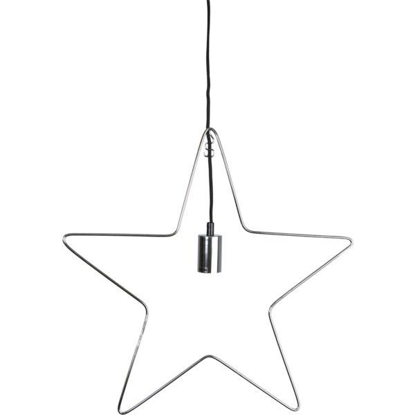 Ramsvik Star 55 cm. Chrome