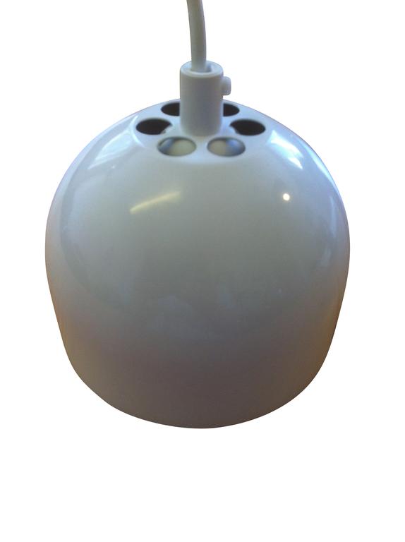 Blomsterlampa Grönska Vit E27. Eklunds Metall