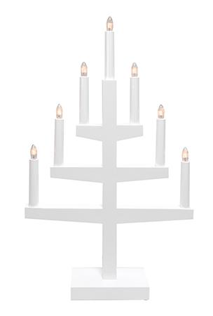 Trapp Ljusstake Vit 7L