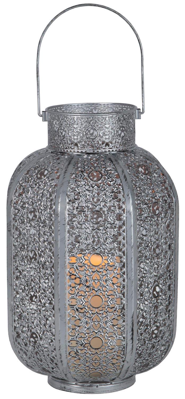 Lykta Agadir Silver