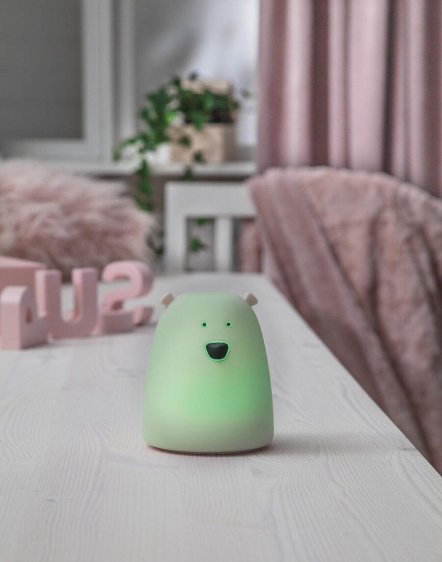 Led-lampa Functional - Little Bear Night Light - Barnlampa