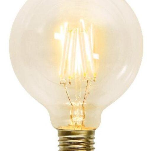 Glob Decoration LED Klar Kolfilament 9,5cm E27 2100K