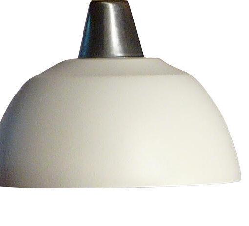 Fönsterlampa Maj Vit Struktur. 15cm. Eklunds Metall