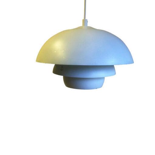 Taklampa Emil Vit 30 cm. Eklunds Metall