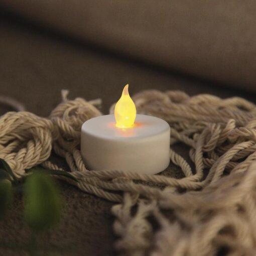 Batteridrivna Värmeljus LED Candle 4-Pack.