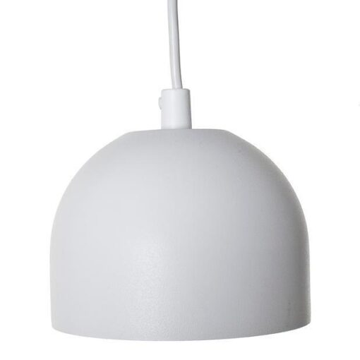 Blomsterlampa Grönska Vit. Eklunds Metall