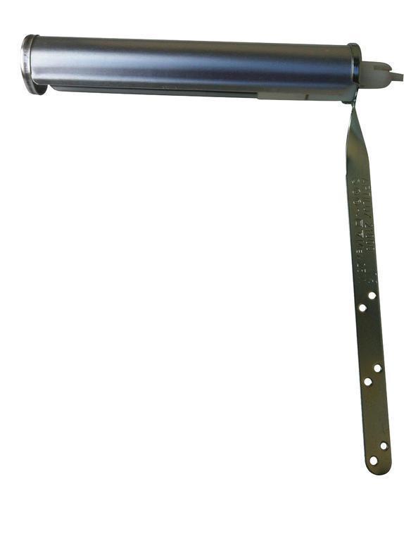 Tavelbelysning Art 1 Borstad Aluminium. Eklunds Metall
