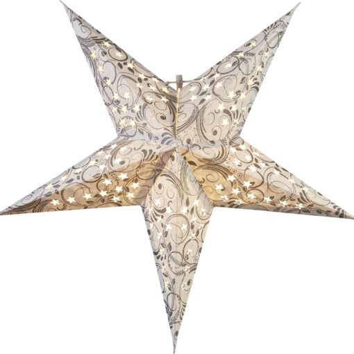 Pappersstjärna Dazzling 45cm