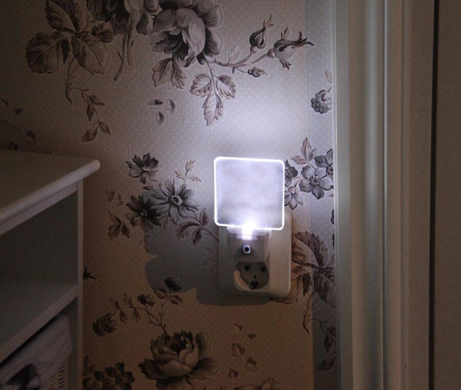 Nattlampa LED med skymningssensor