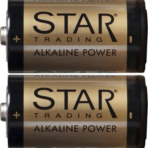 Batteri C 1,5V Power Alkaline. 2P. 7500 mAh
