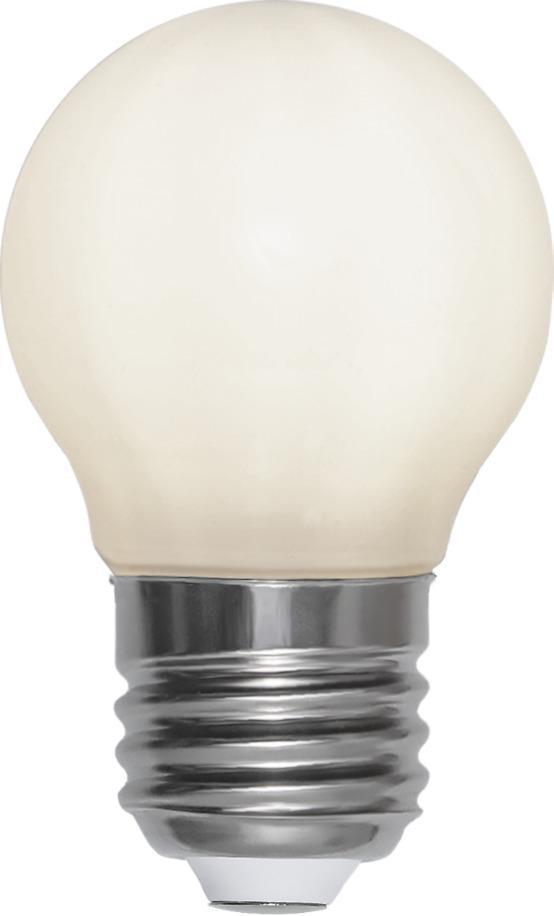 Ledlampa E27 G45 Qpaque Filament RA 90