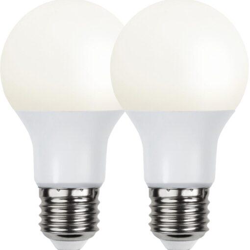 2P Led-Lampa E27 A60 Opaque Basic 3000K.