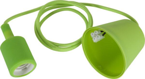 Sladdställ E27 Color Green