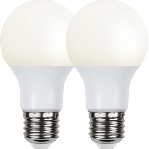 2P Led-Lampa E27 A60 Opaque Basic 3000K. 6,5W=40W