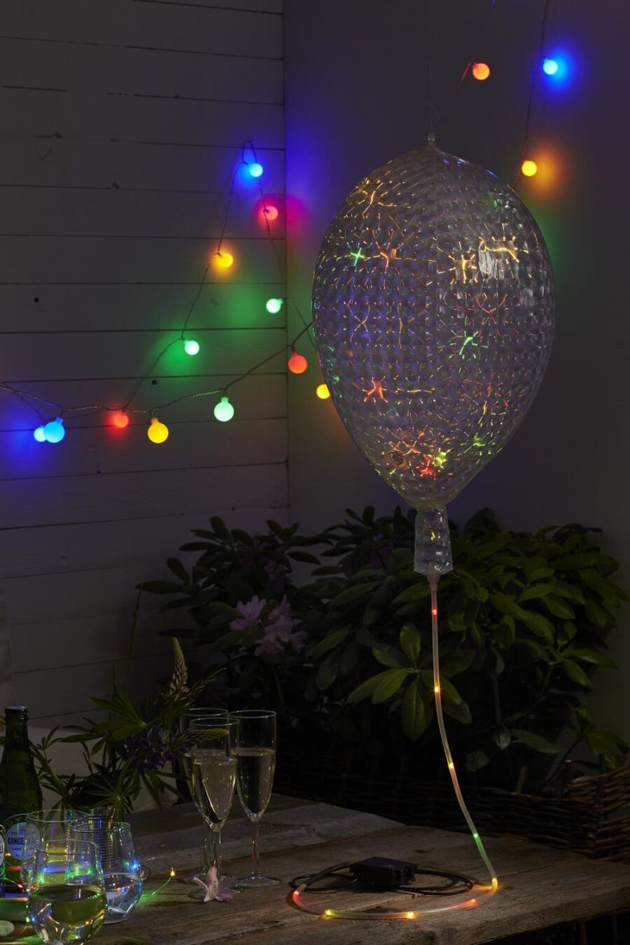 Utom/Inomhusdekoration Party Ballon Battery LED