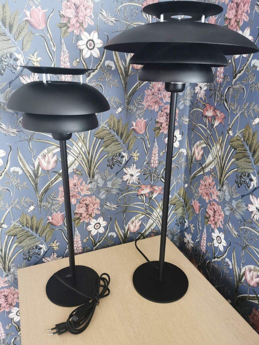 Bordslampa Miriam Svart 65 cm