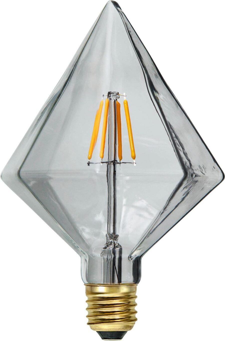 LED-LAMPA E27 SOFT GLOW Diamant