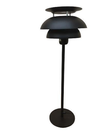 Bordslampa Flora Svart 55 cm - Eklunds Metall