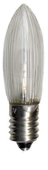 3-Pack. LED-lampa E10. 0,2W. 2100k. Klar.