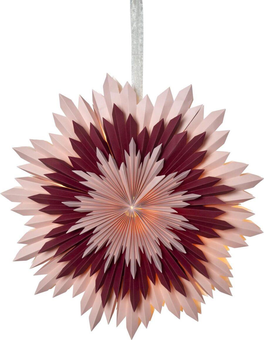 Ice Paper Star 50 Cm Pink