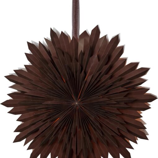 Ice Paper Star 60 Cm Brown